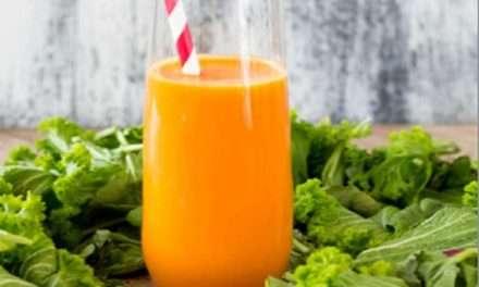 [Recipe] Rainbow Orange Smoothie