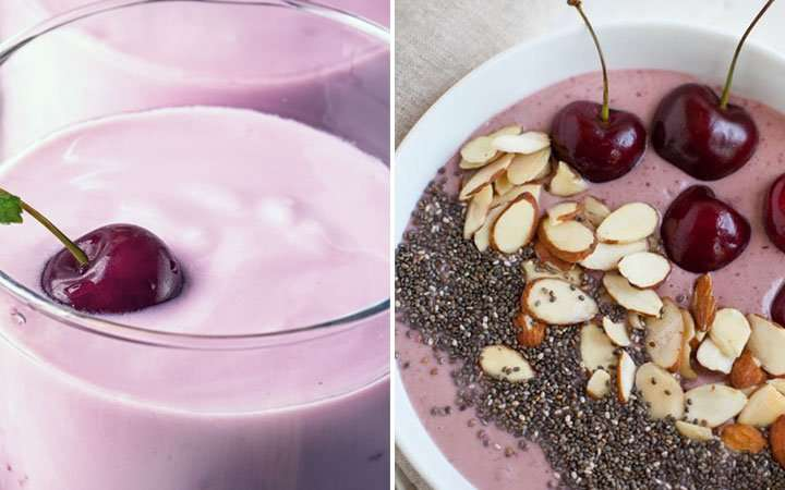 [Recipe] The As-You-Like-It Cherry Cheesecake Smoothie