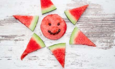 [Recipe] Low-Calorie Watermelon Fruity Smoothie