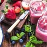 [Recipe] Banana Berry Protein Smoothie