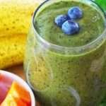 [Recipe] Tracy's Banana Papaya Blueberry Smoothie