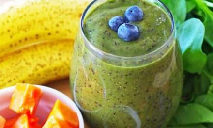 [Recipe] Tracy's Banana Papaya Blueberry Smoothie