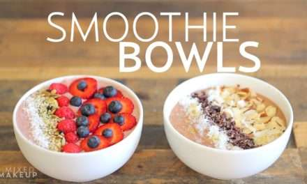 [2 Recipes] For a change, try these 2 Smoothie Bowls