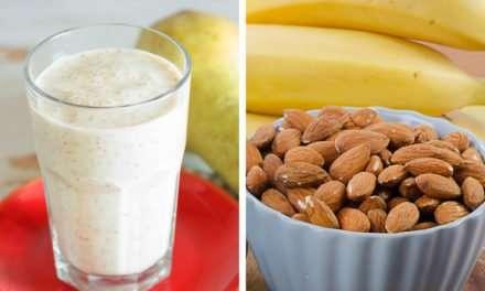 [Recipe] Spiced Pear Almond n Yogurt Smoothie