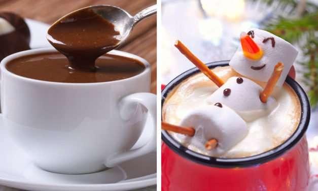 [Recipe] Luxury Chocolate Mint Hot Chocolate