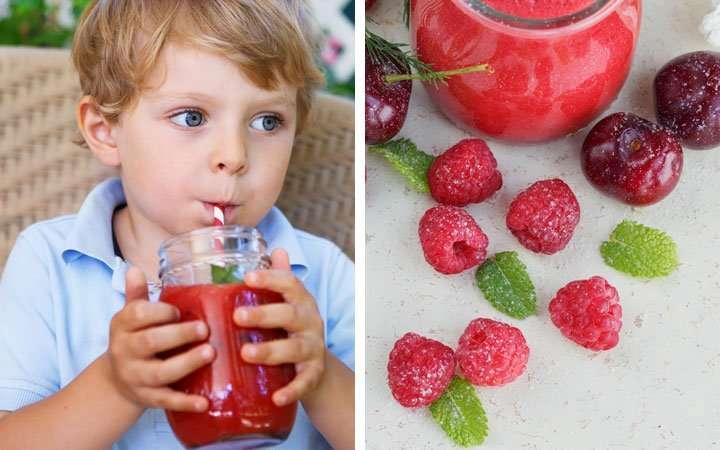 [Recipe] Low Calorie Blueberry Lassi Smoothie