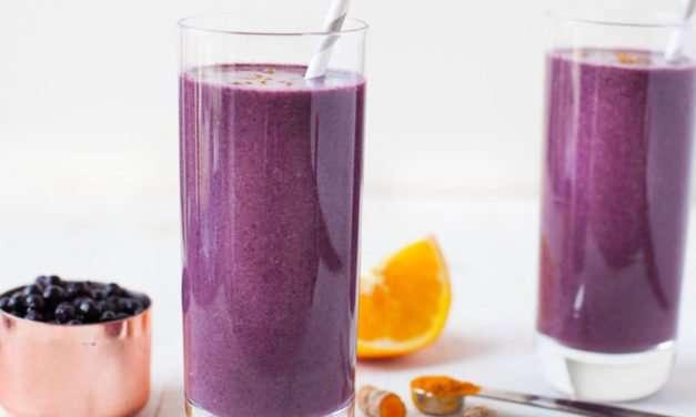[Recipe] Blueberry Ginger Immune-Boosting Smoothie