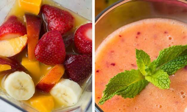 [Recipe] Summer Dreamin' Fruit n Almond Smoothie