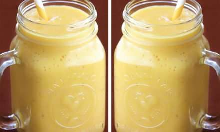 [Recipe] Tasty Tropical Pineapple Smoothie for Under 200 Calories