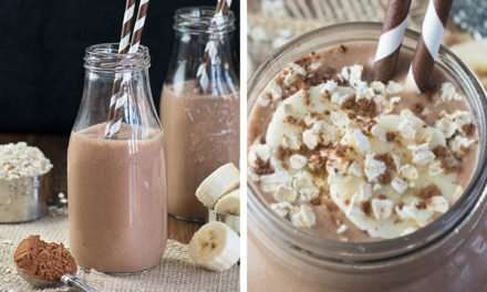 [Recipe] Chocolate Coconut Milk Smoothie 3 Ways