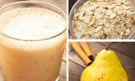 [Recipe] Immune-Boosting Pear Oat n Kefir Smoothie