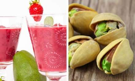 [Recipe] Reduce Belly Fat Series: Strawberry Pistachio Smoothie