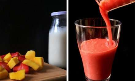 [Recipe] Strawberry Mango Coconut Smoothie for Under 150 Calories
