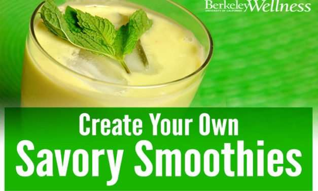 [Recipe] Savory Smoothie Quick Formula