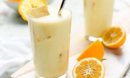 [Recipe] Honey n Lemon Lassi Smoothie for 175 Calories