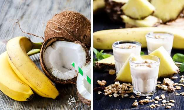 [Recipe] Creamy Coconut Banana Smoothie from 120 Calories