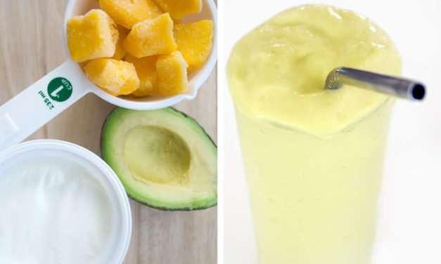 [Recipe] Mango Avocado Green Smoothie for Beginners