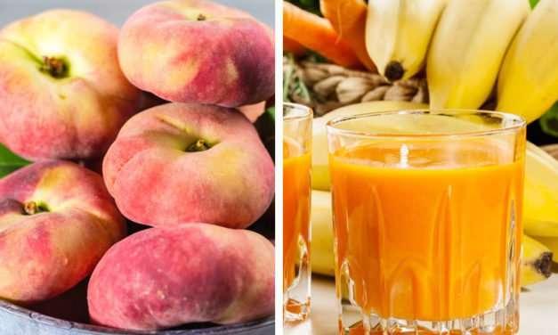 [Recipe] Mood-Boosting Peach Banana Carrot Smoothie 155 Cals