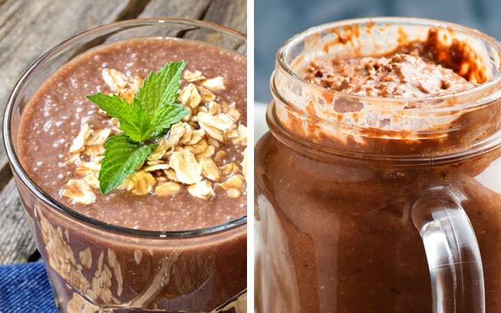 [Recipe] Chocolate Oats and Flaxseed Anti-Inflammatory Smoothie
