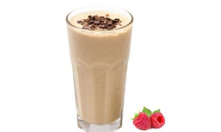 [Recipe] Raspberry Chocolate Protein Smoothie