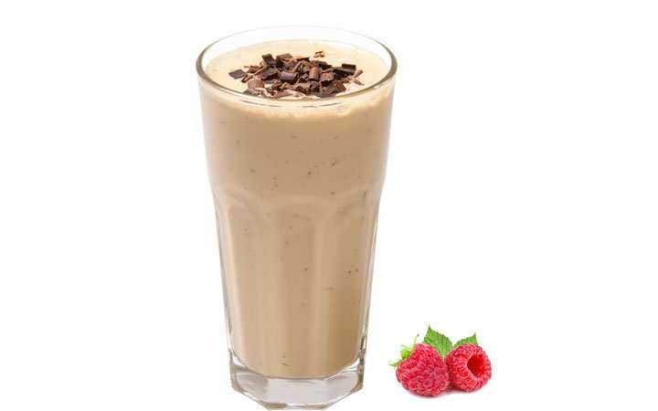 [Recipe] Raspberry Chocolate Protein Smoothie